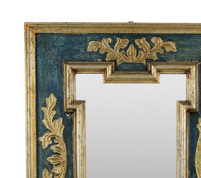 Italian Midcentury Florentine Mirror