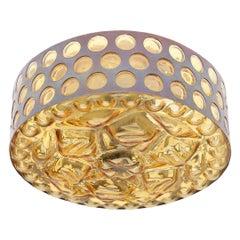 Midcentury Flushmount or Wall Lamp