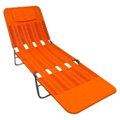 Midcentury Folding Deck Chair, Pool Patio Lounger by Kurz, Germany, 1970s