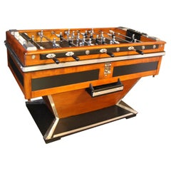Midcentury Foosball Table, Soccer Table, Football Table