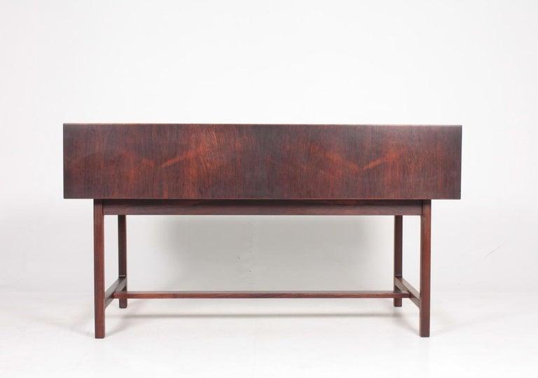 Mid-Century Modern Midcentury Freestanding Desk in Rosewood by Kurt Østervig, Danish Design, 1950s For Sale