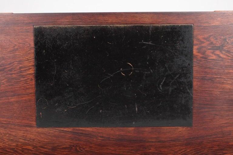 Mid-20th Century Midcentury Freestanding Desk in Rosewood by Kurt Østervig, Danish Design, 1950s For Sale