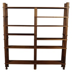 Midcentury Freestanding Shelf from France, circa 1960