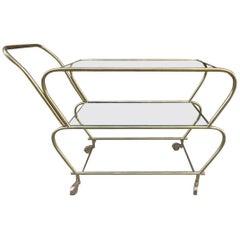 Midcentury French Bar Cart
