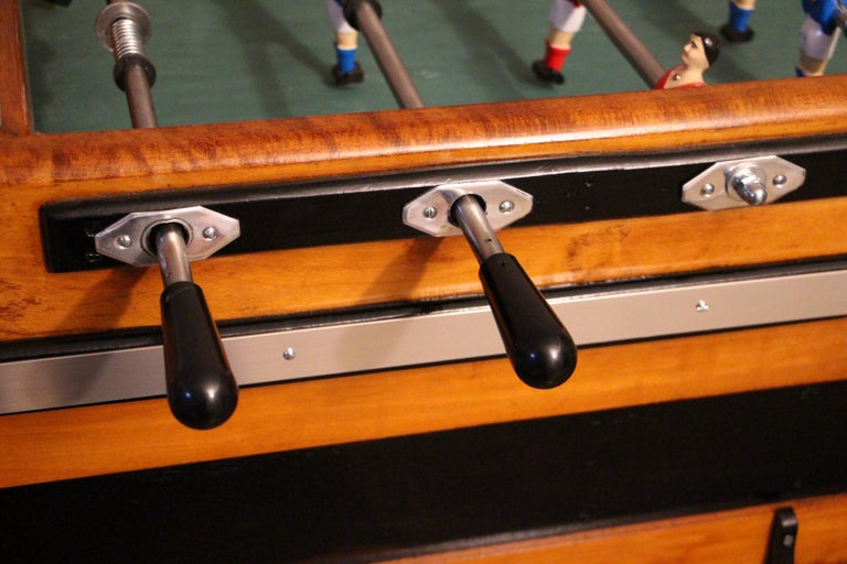 Mid-20th Century Midcentury French Café's Foosball Table, Football Game Table For Sale