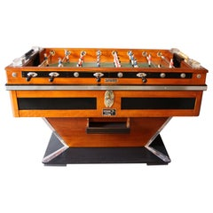Midcentury French Café's Foosball Table, Football Game Table