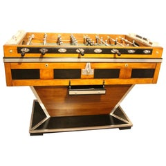 Midcentury French Cafe's Foosball Table, Soccer Table, Football Table