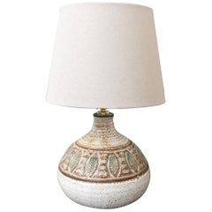 Midcentury French Ceramic Table Lamp by Marcel Giraud, circa 1960s