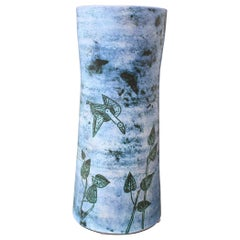 Midcentury French Ceramic Vase by Jacques Blin, circa 1950s, Large