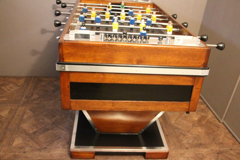 Midcentury French Foosball Table For Sale 1