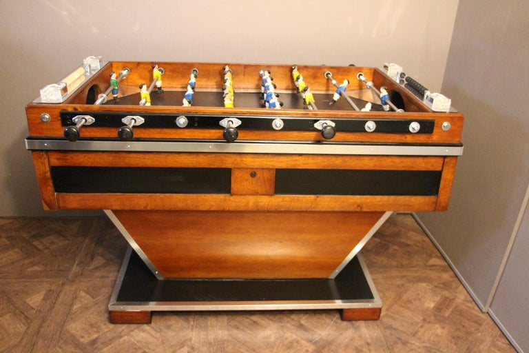 Midcentury French Foosball Table For Sale 2