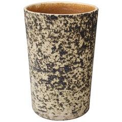 Midcentury French Stoneware Vase, circa 1970s