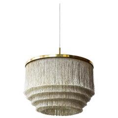 """Midcentury """"Fringe"""" Ceiling Lamp by Hans Agne Jakobsson, Sweden, 1960s"""