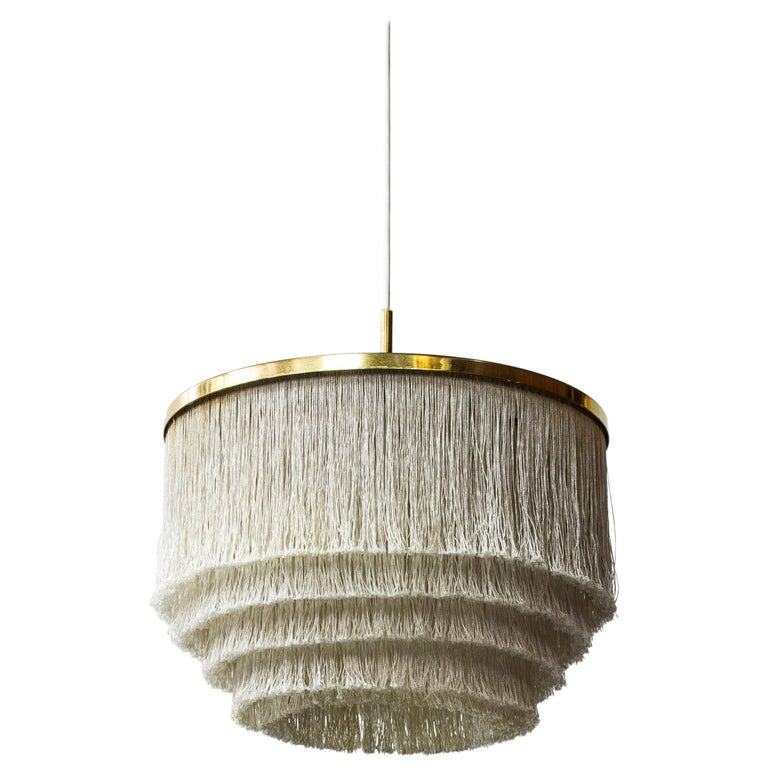 "Midcentury ""Fringe"" Ceiling Lamp by Hans Agne Jakobsson, Sweden, 1960s For Sale"