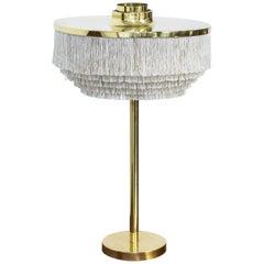 """Midcentury """"Fringe"""" Table Lamp B 138 by Hans Agne Jakobsson, Sweden, 1960s"""
