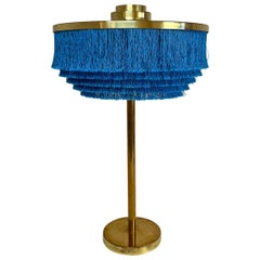 Midcentury Fringe Table Lamp Model B138 by Hans-Agne Jakobsson Sweden