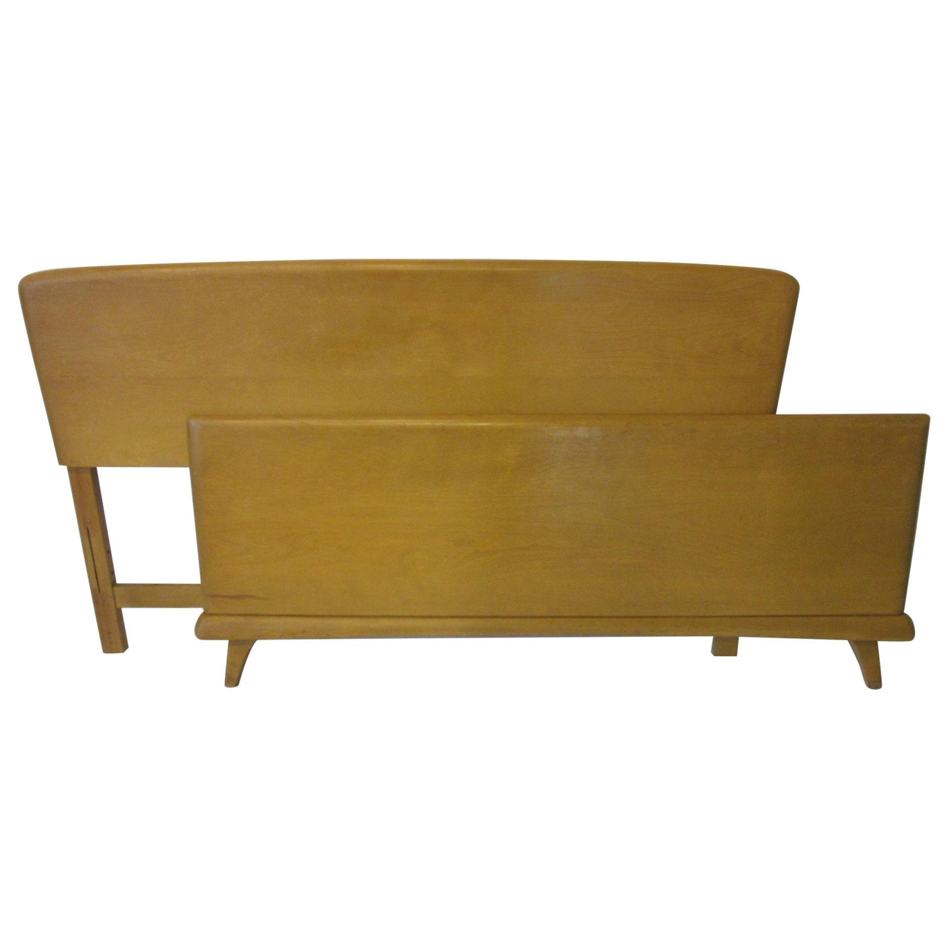 Midcentury Full Sized Headboard, Trophy Suite by Heywood Wakefield