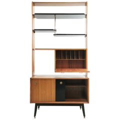 Midcentury G Plan Librenza Tola Room Divider Shelving Unit