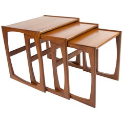 Midcentury G Plan Nesting Tables