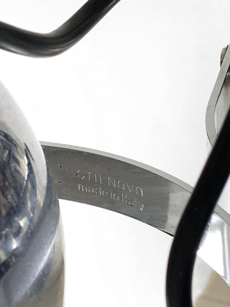 Midcentury Gae Aulenti and Livio Castiglioni Italian Floor Lamp for Stilnovo For Sale 5