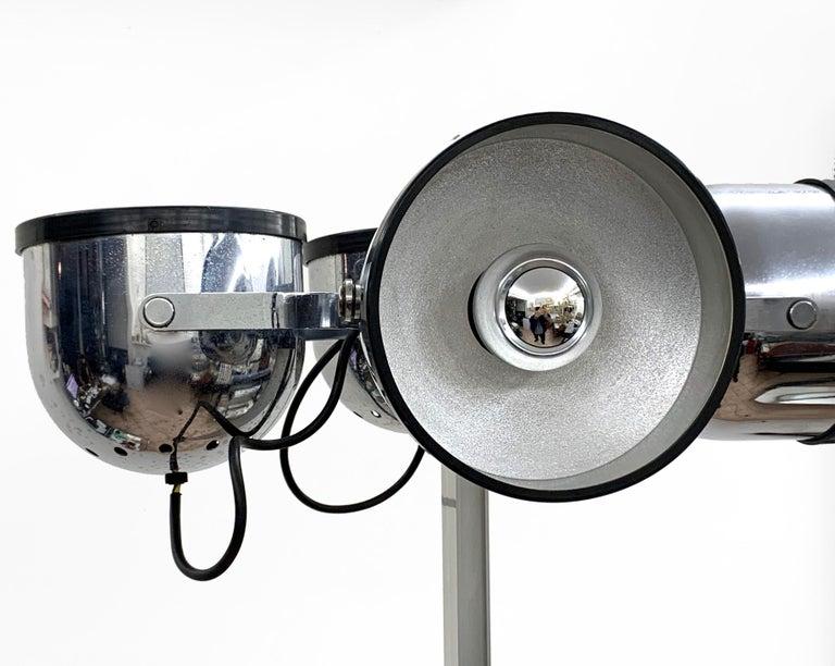 Mid-Century Modern Midcentury Gae Aulenti and Livio Castiglioni Italian Floor Lamp for Stilnovo For Sale