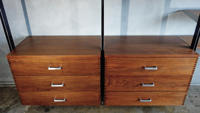Midcentury George Nelson CSS Unit for Herman Miller In Good Condition For Sale In BROOKLYN, NY