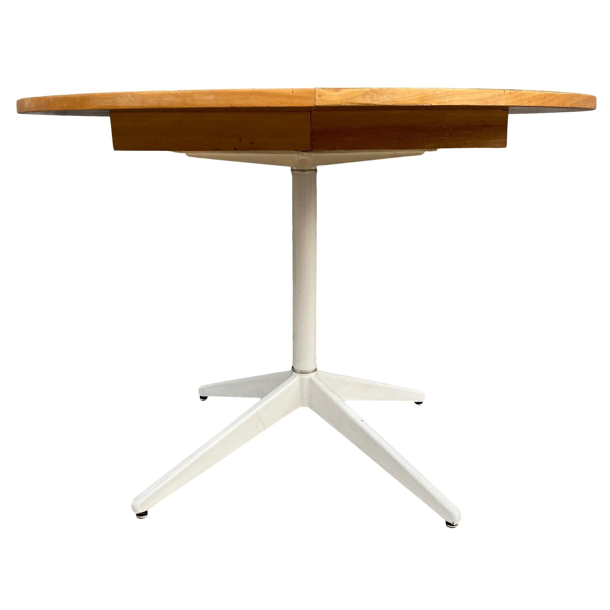 Midcentury George Nelson Herman Miller Expandable Dining Table with 1 Leaf