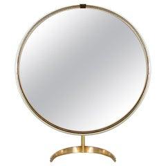 Midcentury German Table Vanity Mirror by Vereinigte Werkstätten München, 1950s