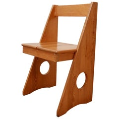 Midcentury Gilbert Marklund Pine Desk Chair