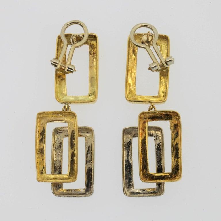 bfe123cea0222 Midcentury Gold Earrings