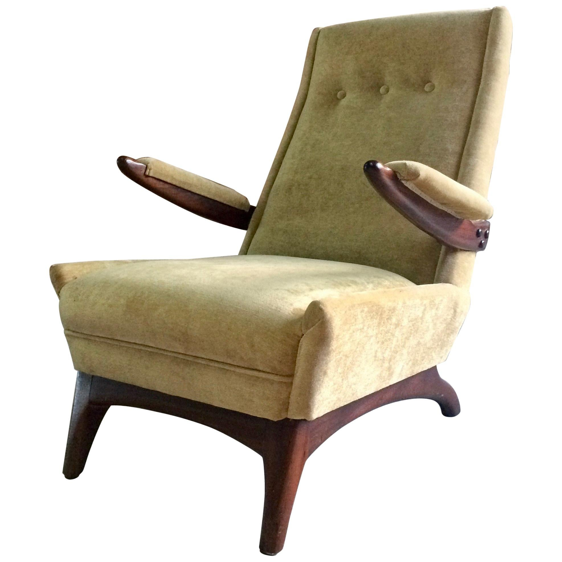 Midcentury Greaves and Thomas Armchair Lounge Chair, circa 1950s