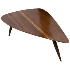 Midcentury Guitar Pick Cocktail Table