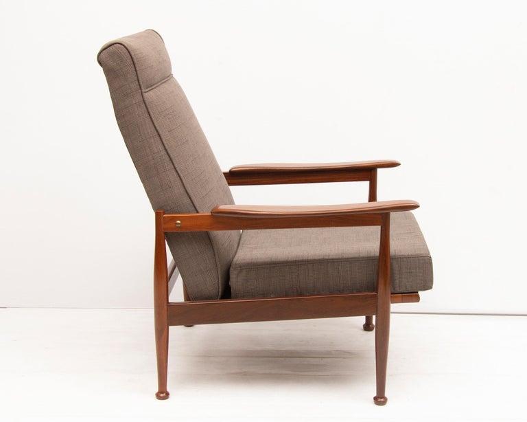 Fine Midcentury Guy Rogers Manhattan Reclining Armchairs Creativecarmelina Interior Chair Design Creativecarmelinacom