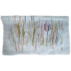 Midcentury Handmade Wall Tapestry, Denmark, 1970s
