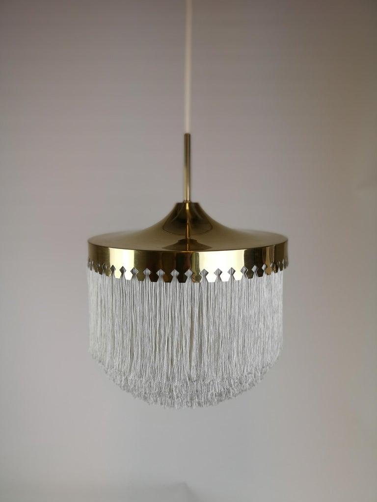 Midcentury Hans-Agne Jakobsson Ceiling Lamp Model T601, Sweden In Good Condition For Sale In Langserud, SE
