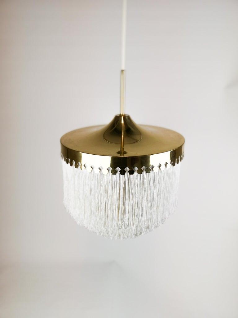 Brass Midcentury Hans-Agne Jakobsson Ceiling Lamp Model T601, Sweden For Sale