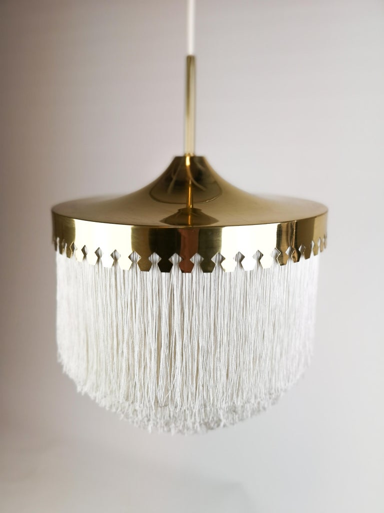 Midcentury Hans-Agne Jakobsson Ceiling Lamp Model T601, Sweden For Sale 1