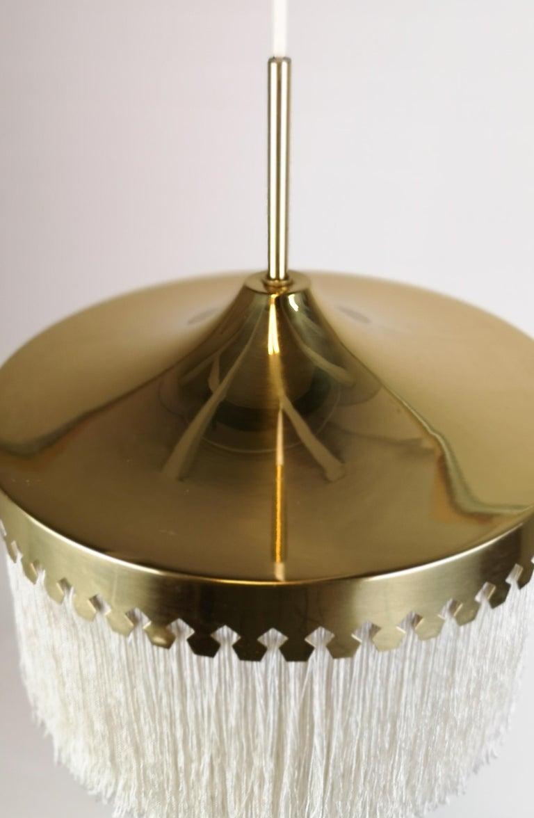 Midcentury Hans-Agne Jakobsson Ceiling Lamp Model T601, Sweden For Sale 2