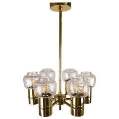 Midcentury Hans-Agne Jakobsson Lamingo T325 Ceiling Lamp, Sweden, 1950s