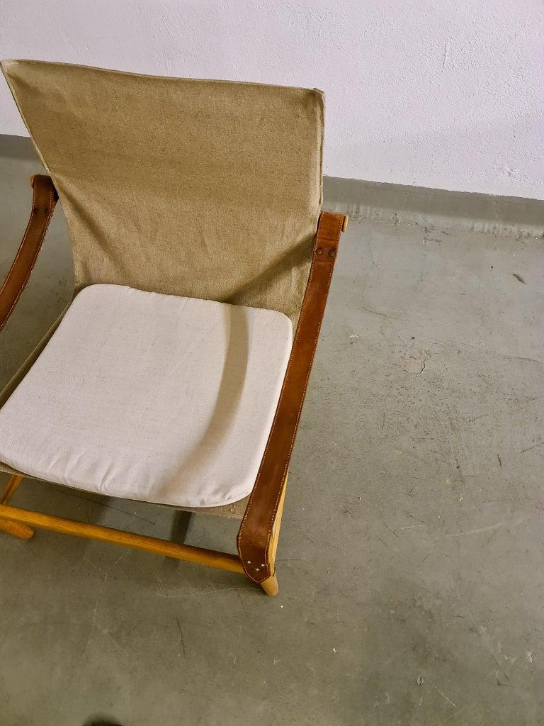 Midcentury Hans Olsen 'Antilope' Safari Lounge Chair, 1960s For Sale 3