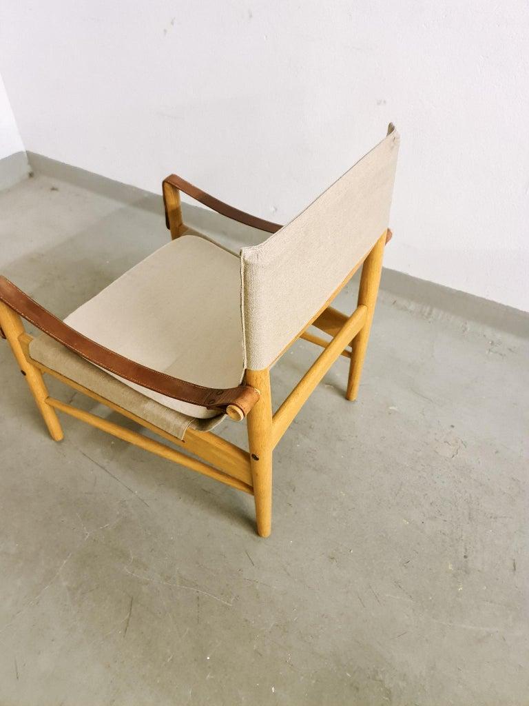 Midcentury Hans Olsen 'Antilope' Safari Lounge Chair, 1960s For Sale 4