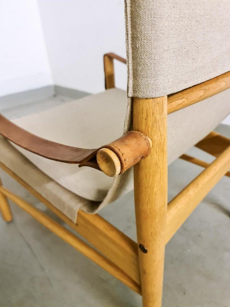 Midcentury Hans Olsen 'Antilope' Safari Lounge Chair, 1960s For Sale 5