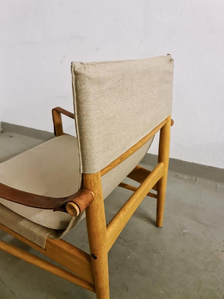 Midcentury Hans Olsen 'Antilope' Safari Lounge Chair, 1960s For Sale 6