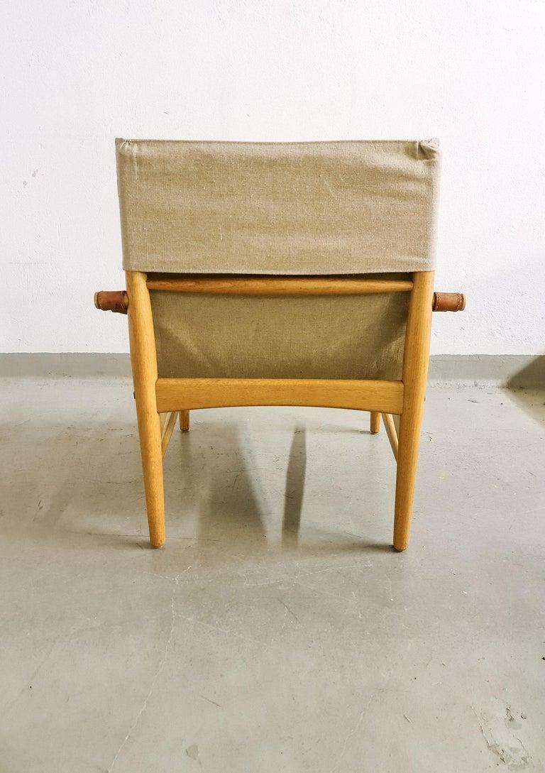 Midcentury Hans Olsen 'Antilope' Safari Lounge Chair, 1960s For Sale 7