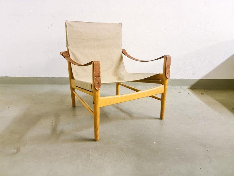 Mid-Century Modern Midcentury Hans Olsen 'Antilope' Safari Lounge Chair, 1960s For Sale