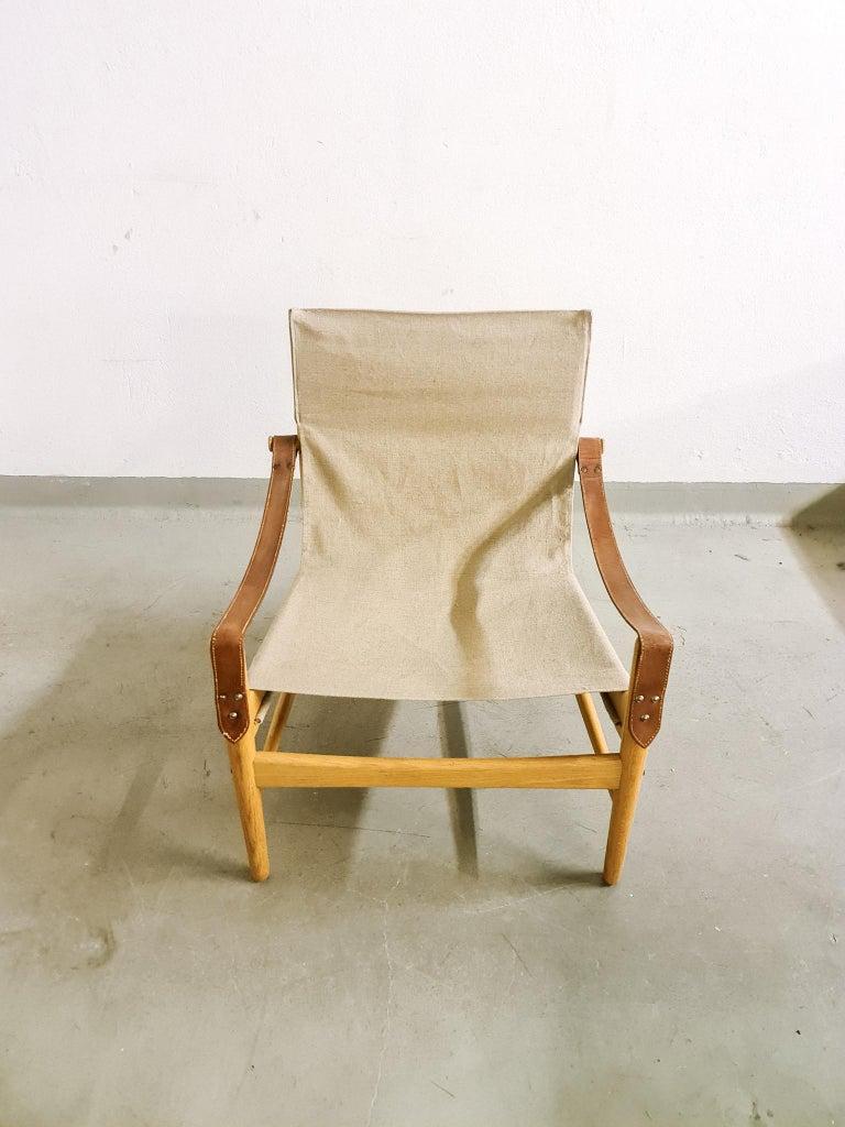 Mid-20th Century Midcentury Hans Olsen 'Antilope' Safari Lounge Chair, 1960s For Sale