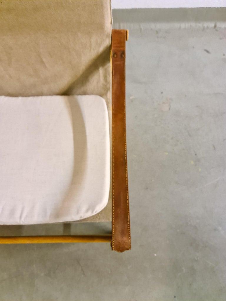 Midcentury Hans Olsen 'Antilope' Safari Lounge Chair, 1960s For Sale 2