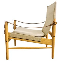 Midcentury Hans Olsen 'Antilope' Safari Lounge Chair, 1960s