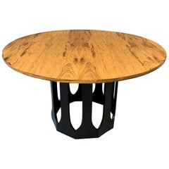 Midcentury Harvey Probber Game / Breakfast Table with Rosewood Top