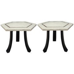 Midcentury Harvey Probber Tulip Side Tables